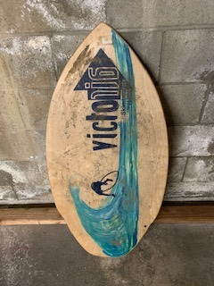 Wood Skim Board similar-image