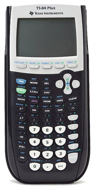 TI 84 plus - texas instrument calculator similar-image