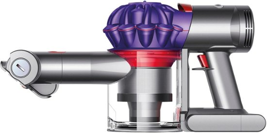 Dyson - V7 Car&Boat Bagless Cordless Hand Vac - Iron/purple similar-image